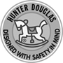 hunter douglas designed with safety in mind